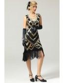 Платье в стиле Гэтсби UF5523 (105523) - 3, 8