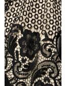 Винтажное платье с кружевом на юбке B5387 (105387) - оригинальная одежда, 2