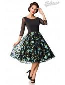 Винтажное вечернее платье с вышивкой B5391 (105391) - foto