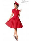 Красное платье Retro B5401 (105401) - foto