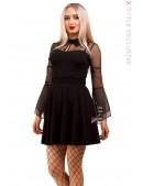 Короткое платье с сеточкой X-Style (105435) - foto