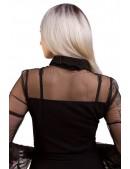 Короткое платье с сеточкой X-Style (105435) - 3, 8