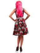 Платье Rockabilly с поясом X436 (105436) - цена, 4