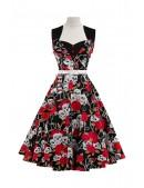 Платье Rockabilly с поясом X436 (105436) - материал, 6