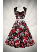 Платье Rockabilly с поясом X436 (105436) - foto