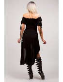 Платье с открытыми плечами X439 (105439) - оригинальная одежда, 2