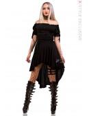Платье с открытыми плечами X439 (105439) - foto