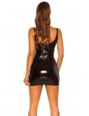 Мини-платье с эффектом латекса KouCla (105445) - оригинальная одежда, 2