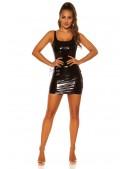 Мини-платье с эффектом латекса KouCla (105445) - 4, 10