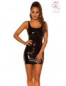 Мини-платье с эффектом латекса KouCla (105445) - цена, 4