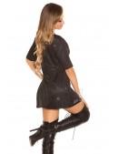 Короткое платье с блестками KC446 (105446) - материал, 6