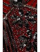 Платье с пайетками и бахромой в стиле 20-х XC299 (105299) - 3, 8