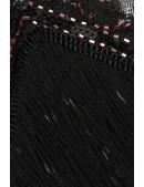 Платье с пайетками и бахромой в стиле 20-х XC299 (105299) - 4, 10