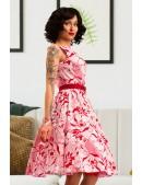Летнее платье с цветочным узором X5349 (105349) - 3, 8