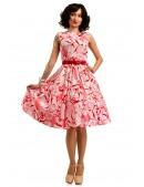 Летнее платье с цветочным узором X5349 (105349) - материал, 6