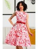 Летнее платье с цветочным узором X5349 (105349) - foto
