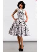 Платье Pin-Up с поясом X-Style (105352) - foto