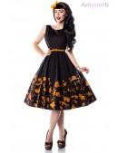 Платье Pin-Up с цветочным узором Amynetti (105457) - foto