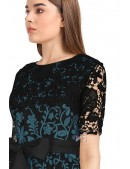 Винтажное платье с ажурной шалью XC5463 (105463) - материал, 6