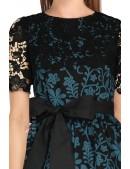 Винтажное платье с ажурной шалью XC5463 (105463) - оригинальная одежда, 2
