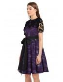 Платье с шалью и поясом XC5464 (105464) - материал, 6