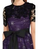 Платье с шалью и поясом XC5464 (105464) - оригинальная одежда, 2