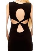 Длинное платье с вырезами на спине X5465 (105465) - цена, 4