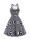 Яркое платье с рисунком XC5468 (105468) - цена, 4