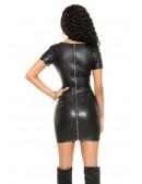 Платье с имитацией кожи KouCla (105470) - 4, 10