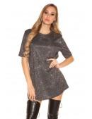 Короткое платье с блестками KC446 (105446) - 4, 10