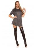 Короткое платье с блестками KC446 (105446) - 3, 8