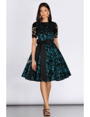 Винтажное платье с ажурной шалью XC5463 (105463) - foto