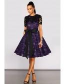 Платье с шалью и поясом XC5464 (105464) - foto
