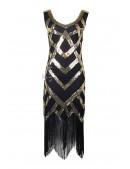 Платье в стиле Чикаго XTC471 (105471) - foto