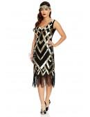 Платье в стиле Чикаго XTC471 (105471) - цена, 4