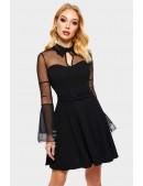 """Платье клеш с воротником """"летучая мышь"""" X5472 (105472) - оригинальная одежда, 2"""