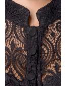 Ажурное черное платье BS5480 (105480) - оригинальная одежда, 2