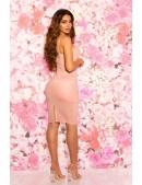 Платье под кожу с откровенным декольте KC5334 (105334) - материал, 6