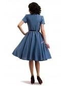 Винтажное льняное платье X5353 (105353) - оригинальная одежда, 2