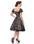 Ажурное винтажное платье с бретелями B5483 (105483) - цена, 4