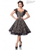 Ажурное винтажное платье с бретелями B5483 (105483) - foto