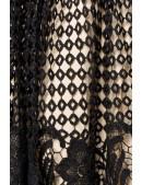 Винтажное вечернее платье с ажурной юбкой B484 (105484) - оригинальная одежда, 2