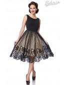 Винтажное вечернее платье с ажурной юбкой B484 (105484) - foto
