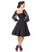 Винтажное вечернее платье с длинным рукавом B5485 (105485) - оригинальная одежда, 2