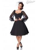 Винтажное вечернее платье с длинным рукавом B5485 (105485) - foto