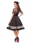 Винтажное нарядное платье с болеро Belsira (105487) - 4, 10