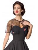 Винтажное нарядное платье с болеро Belsira (105487) - материал, 6