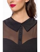 Нарядное винтажное платье с длинным рукавом B5488 (105488) - 4, 10