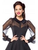 Нарядное винтажное платье с длинным рукавом B5488 (105488) - 3, 8