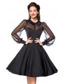 Нарядное винтажное платье с длинным рукавом B5488 (105488) - цена, 4